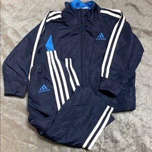 ADIDAS track suit outfit blue size 12 months